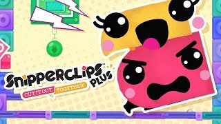 GNAWING AT EACHOTHER! - Snipperclips Plus Ep.5