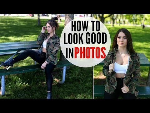 How To Look GOOD In EVERY Picture !! MODEL TIPS thumbnail