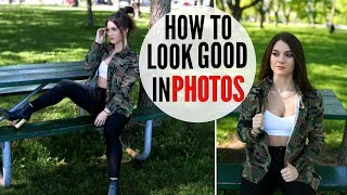 How To Look GOOD In EVERY Picture !! MODEL TIPS