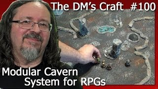 Modular 2.5d Cavern System For D&d And Pathfinder (the Dm's Craft #100 Hd Version)