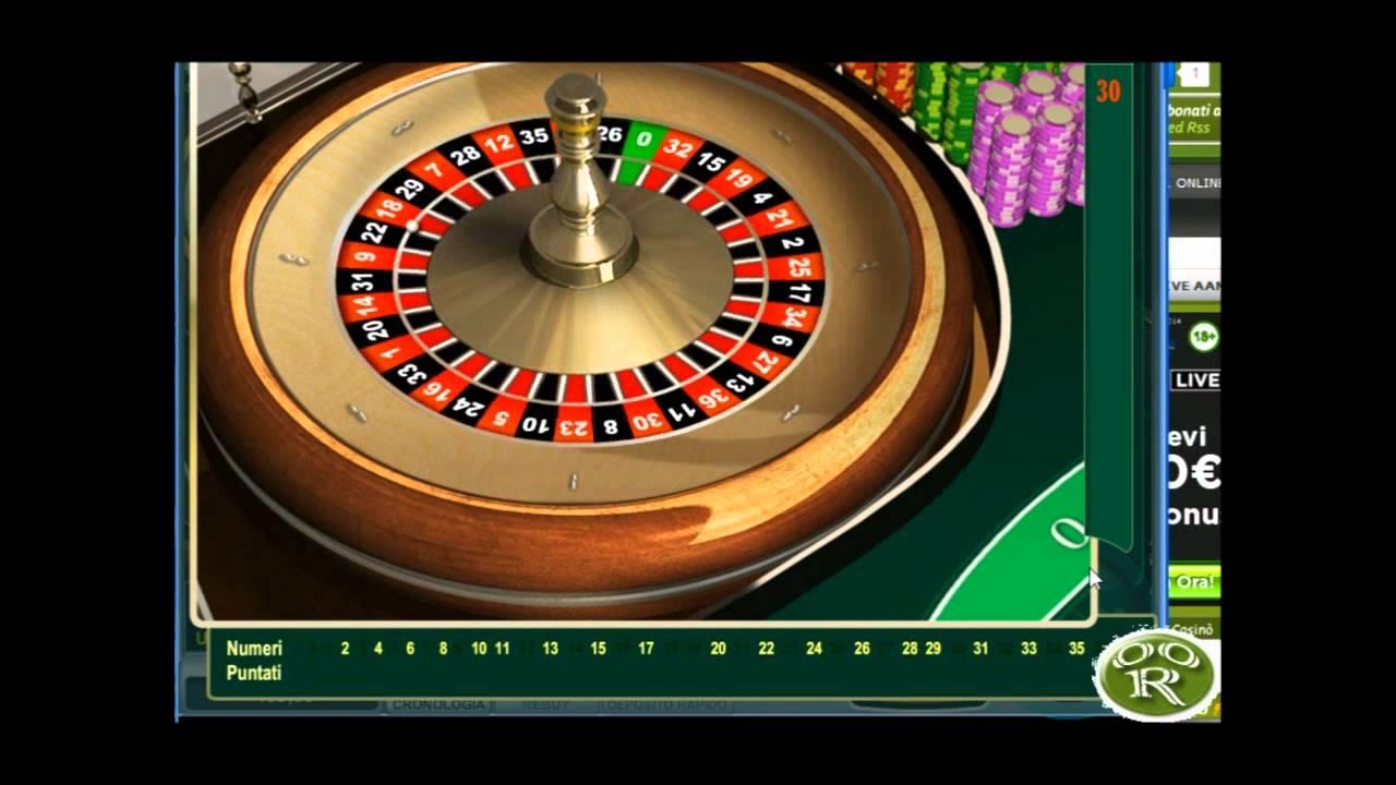 Roulette europea online free