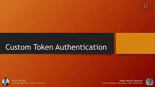 ASP.NET WEB API ile Custom Token Authentication
