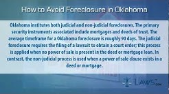 How to stop foreclosure in Oklahoma