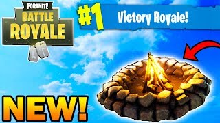 FORTNITE NEW COZY CAMPFIRE w/ 69 SOLO WINS! ;) (GONE WRONG, NOT CLICKBAIT)