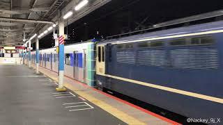都営三田線新型車両6500形第一編成甲種輸送 北朝霞駅にて
