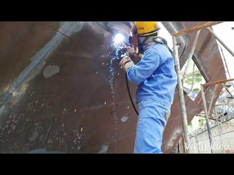 Japan shipyard welder