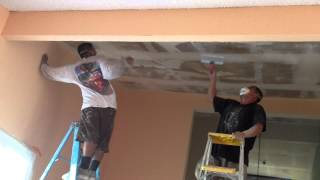 How to Remove Acoustic Ceiling Canoga Park