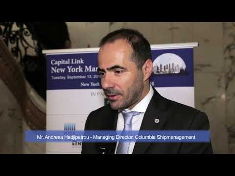 2016 New York Maritime Forum - Interview with Mr. Andreas Hadjipetrou
