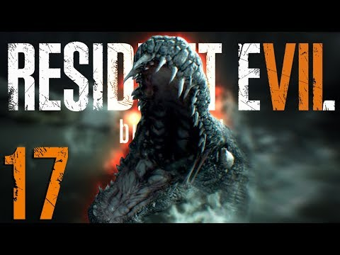 PUNCHING A CROCODILE IN THE MOUTH | Resident Evil 7 - Part 17