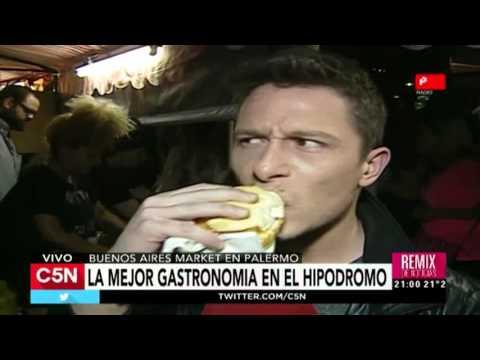 C5N - Consumo: Feria Gastronómica nocturna en el Hip de Palermo
