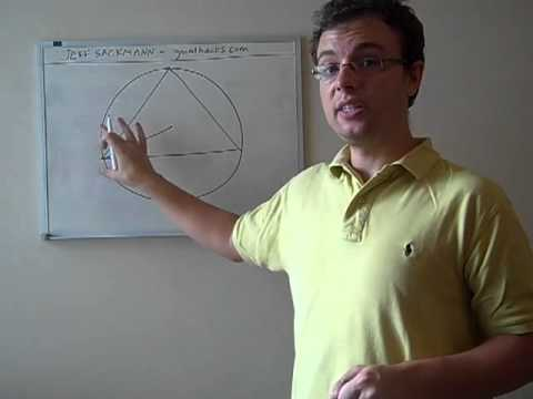 Circle Inscribed in an Equilateral Triangle