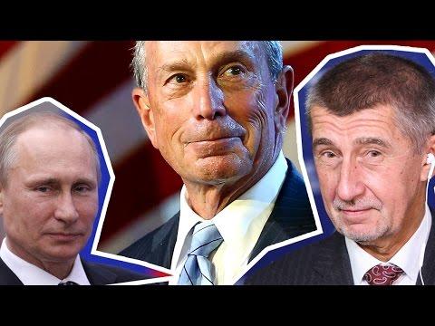 TOP 5 Nejbohatších politiků w/ Babiš, Putin, Bloomberg