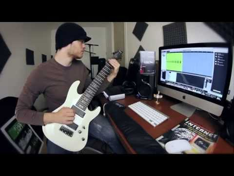 every note on an 8 string guitar