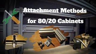 Attachment Methods for Van Cabinetry (80/20 T-slot Aluminum)