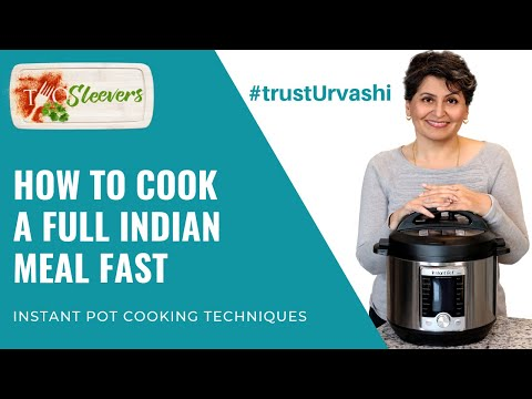 Learn how to make a full Indian Meal Fast