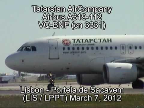 Tatarstan AirCompany Airbus A319-112 VQ-BNF (cn 3331)