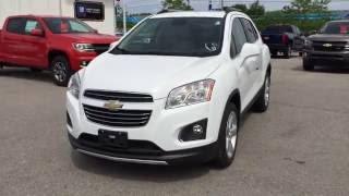 2016 Summit White Chevrolet Trax AWD LTZ Roy Nichols Motors Ltd Courtice ON