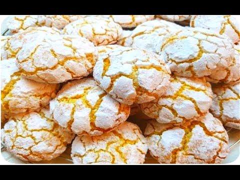 ghriba-noix-de-coco-et-semoule-fine-/-recette-facile-et-rapide-à-préparer