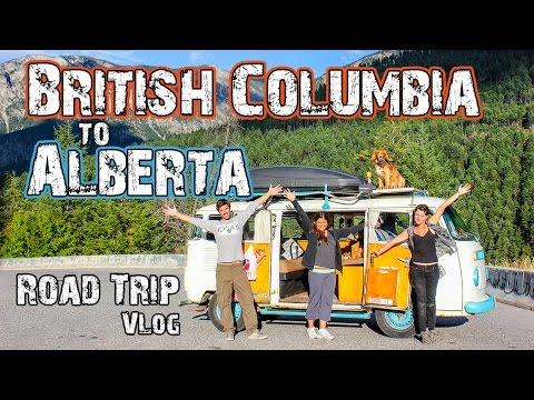 British Columbia to Alberta Road Trip - Adventure Canada - Travel Vlog(13)