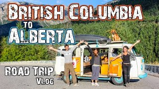 British Columbia to Alberta Road Trip - Adventure Canada - Travel Vlog(13)