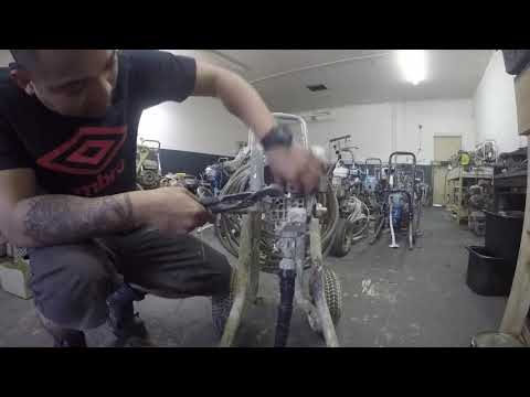 How To (como) Repack Wagner Spraytech Titan1920 Pt1
