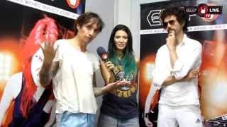 THE DARKNESS interview by EMP LIVE TV - LEYENDAS DEL ROCK 2015