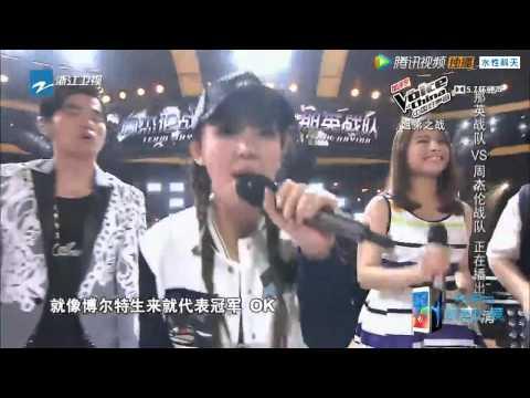 中国好声音 第4å£ 20150918 纯享版 : 周杰伦战队 《你的微笑 å