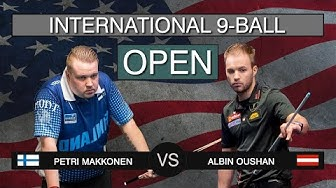Petri Makkonen - Albin Ouschan | US International 9-ball Open 2019