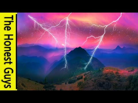 8 HOURS of Rainforest & Thunder Nature Sounds for Study, Sleep, Relaxation & Meditation