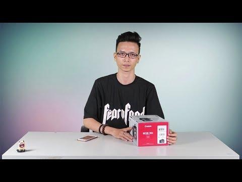 Mở hộp trên tay nhanh Canon EOS 70D chính hãng giá chỉ còn 15tr