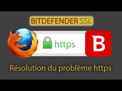 Résolution bug https ssl bitdefender [FR]
