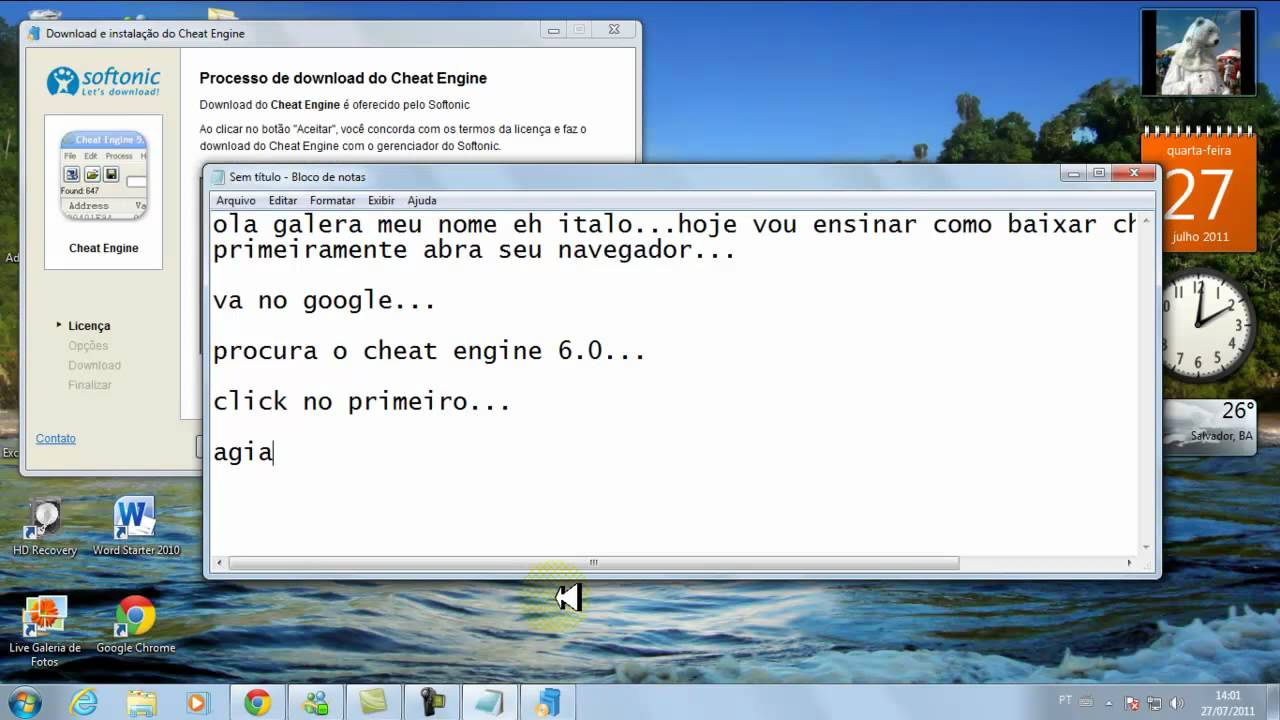 cheat engine pc download softonic