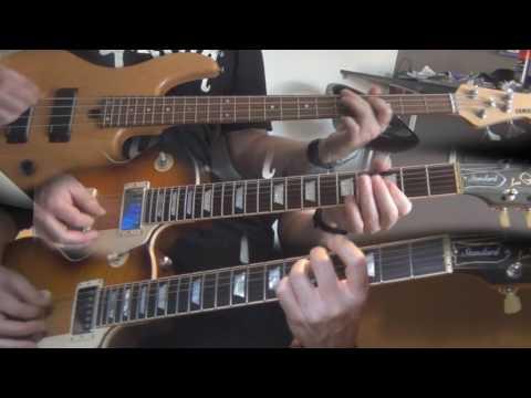 Killing Joke - Love like Blood (Guitar & Bass cover)