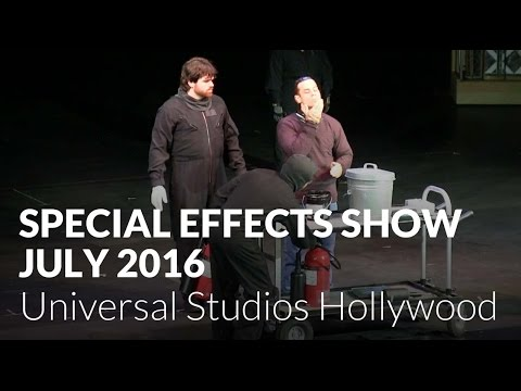 Special Effects Show (July 2016) at Universal Studios Hollywood