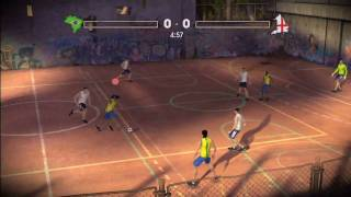 FIFA Street 3 - Game Trailer Brazil vs England