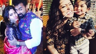 Actress Sneha Private Moments with Husband Prasanna and Son Vihaan Video
