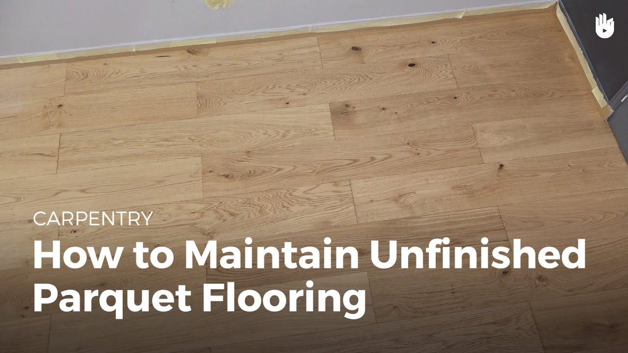 Unfinished Wood Floors How To Clean