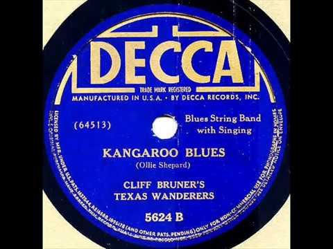 KANGAROO BLUES On DECCA 5624 By CLIFF BRUNER'S TEXAS WANDERERS
