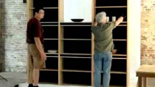 New From Green Design Furniture: Nazaku Bookcase Assembly