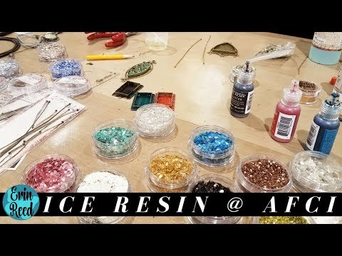 Ranger Ice Resin Demo w/ Susan Lenart Kazmer @ Creativation 2018
