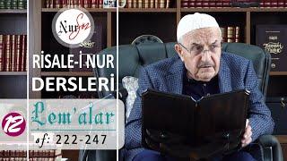 """Lem'alardan 12. DERS (26. LEM'A -1 """"İhtiyarlar Risalesi"""") Hüsnü Bayram Ağabey ile Risale-i Nur Dersi"""