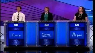 Joon Pahk on Jeopardy! Oct. 4, 2011 Pt 1
