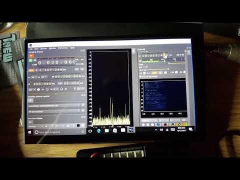 "LimeSDR and LattePanda Win10, 64-bit running SDRAngel with 7"" LCD/Touchscreen"