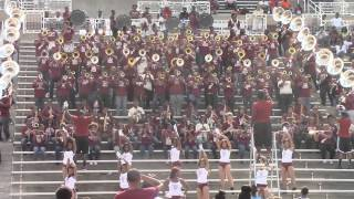 Alabama A&M University Band 2014 Fan Day - Partition