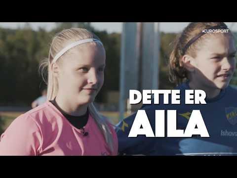 Aila fra Alta blir overrasket av laget med billett til Drømmekampen