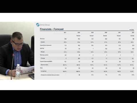 Webinar - presenting the Public Offering 2018 | Sirma Group
