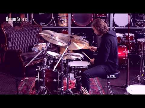 Spizz Cymbals test + Natal Cafe Racer Jazz