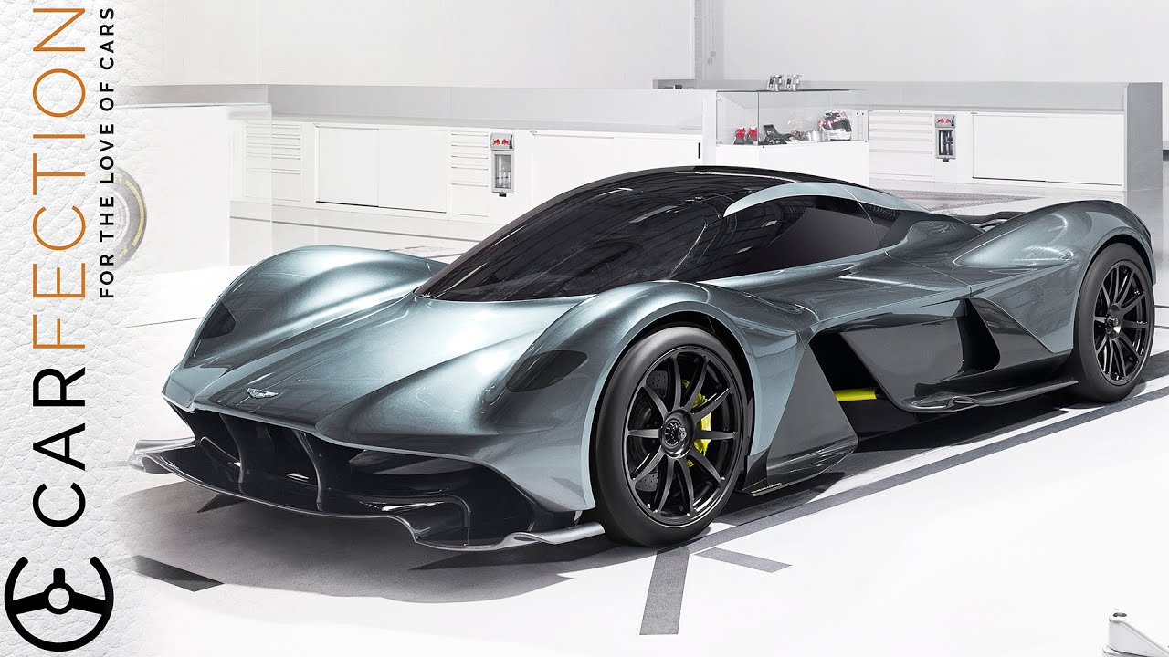Aston Martin Valkyrie Am Rb 001 Aston Martin And Red Bull Racing Hypercar Carfection Youtube