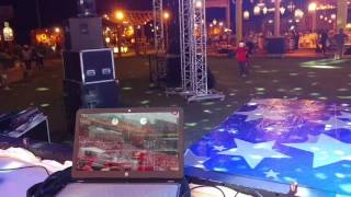 Dj Rinks With Student Dj EcH Performing Live