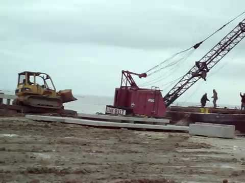 Crane on Barge Accident